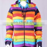 Rainbow Color Cotton Bohemian Hoodies & Jacket CSWJ 446