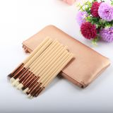 Foreign trade bursting make-up brush 15/8/12 wooden handle make-up brush suit professional beauty makeup tool support sy