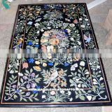 Marble Inlay Marquetry Pietra Dura Dining Table Top