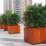 High Recyclable Wood Plastic Board Removable Outdoor Flower Boxes