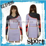 Plus size Cheerleading Uniforms Custom,Sublimation Cheer Uniforms