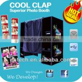 Digital Advertising Photo Booth With Touch Screen