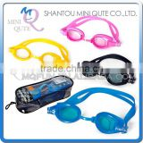 MINI QUTE Outdoor Fun & Sports 4 color Adult anti fog fashional Dive swimming goggle face plates mask NO.WMB07040
