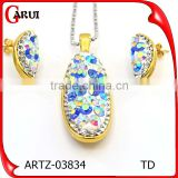 Jewelry Manufacturer China Brazilian Gold Jewelry Wholesale Sets