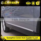 Side body trim auto accessories Car Side door Chome strip Cover for VW Tiguan