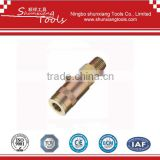 UK Type 1/4'' Body Two Touch Type se11-sm/Brass Male Thread Air Coupling Pneumatic Tools