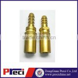 brass gold plated connector screw