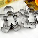 YangJiang factory manufature good quality Cute person shape stainless steel baking tools
