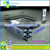 Factory sale EXW watch display/watch display fashion/mall kiosk design