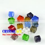 Assorted shape glass beads, charm beads for bracelet, crystal pendant beads for decoration
