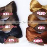 new fashion style synthetic chignon hair wig accessory with clip