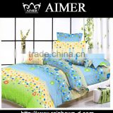 cheap 100% cotton modern cartoon design wholesale printed beautiful fashion twin bed sheets and pillow cases
