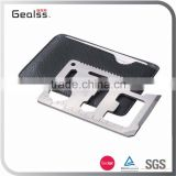 Portable multifunction camping credit card tool credit card knife with bottle opener                                                                                                         Supplier's Choice