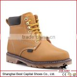 China cheap wholesale leather farm boots/lace to toe waterproof work boot