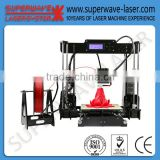 High Speed DIY ABS/PC/Nylon/PLA Filament 3d Printer machine for sale