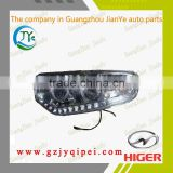 6129,6119,6109 Higer bus body parts combined headlight headlamp 24v