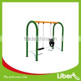 2014 attractive Outdoor Solitary Equipment Swing with slide for kids play LE.QQ.115