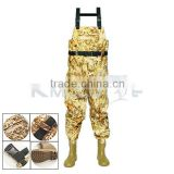 CHN-81203M quality nylon fabric fishing wader pants for hunting and fishing