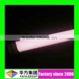 CE RoHS Approval 2ft-8ft led fluorescent tube light power pinkled lights japanese fin shape T8 tube light fresh meat tube