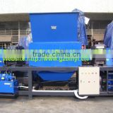 Strong Two Shaft Shreddering equipments for big plastic material&drum crusher