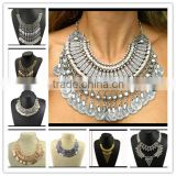 Turkish Indian alloy Boho Necklace coin statement necklace                                                                         Quality Choice