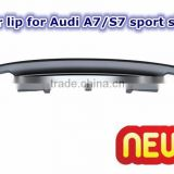 Rear lip for Audi A7 S7