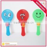 promotion plastic catch grabber paddle ball toy with a bounce ball,many design for choice