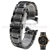Classic Buckle ceramic Watchband 24mm watch bracelet