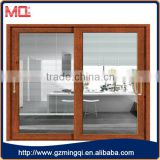 Soundproof double glass Double glass aluminum sliding door for balcony Guangzhou factory