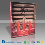 Product catalogue printing wooden almirah catalogue with full color