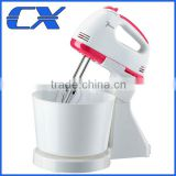 Good Quality Stand Mixer With Rotating Bowl Hand Stand Food Mixer With a Bowl For Kitchen Sale