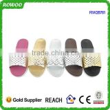 Colorful Slide and cheap lady slippers of chinese factory