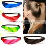 Alibaba express wholesale best selling synthetic hair clasp with fashion colors