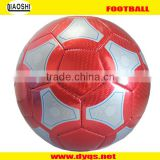 HOT SALES high quality Laser leather cheap 4# soccer/ football