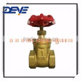 Brass Gate Valves with 200WOG PN16 PN25 for Italy Market