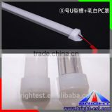 45 Degree Aluminium Channel / Corner Profile for LED Strip series - 1-m2.5m length