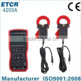 ISO CE ETCR4200A Intelligent Large Clamp Phase Volt-ampere Meter digital multimeter brands