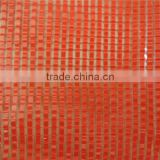 PE /PP round yarn net mesh bags for packaging orange