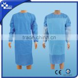 Top quality disposable non woven surgical gown /protection gown
