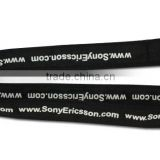Heat transfer sublimated dying lanyard with bottle opener