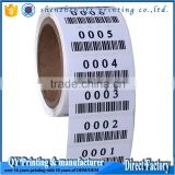 Custom Adhesive Blank White Price Sticker Anti Theft Product Variable Print Data Paper Roll Barcode Label                                                                         Quality Choice