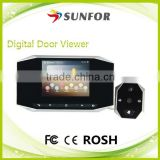 "2014 New Fashion Appearance 120 Degree Wide Angle Door Eye Hole Camera Peephole Viewer with 3.0/3.5"" LCD Screen for Choosing"