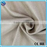 polyester knitting suede double-faced brushed fabric for garment