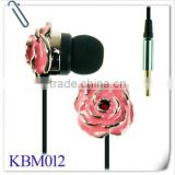 Bling Bling Crystal Diamond Diamante Headphone Earphone Headset with Microphone