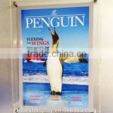 beautiful clear rectangle custom wholesale acrylic poster frames,a4 plastic poster frame manufacturer