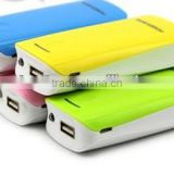 factory direct 5600mah li-ion cell phone portable power bank universal power bank mobile phone external battery charger
