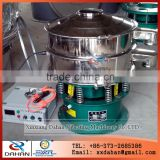 800mm vibrating ultrasonic sieving machine with 1 layer