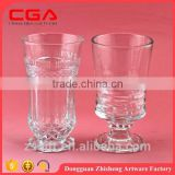 Manufaturer wholesale high quality clear glass crafts,glass bowl sets,glass teacup,wine glass.