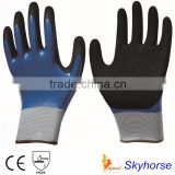 Polyester Shell Nitrile Coated Saftey Work Gloves Auto Mechanic Gloves made in china                                                                         Quality Choice