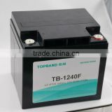 12V 40Ah lithium battery for lamping,solar pannel,ups application.